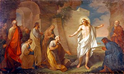 Gesù in persona stette in mezzo a loro e disse «Pace a voi» - il Portico