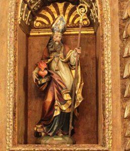 la festa di sant'Agostino