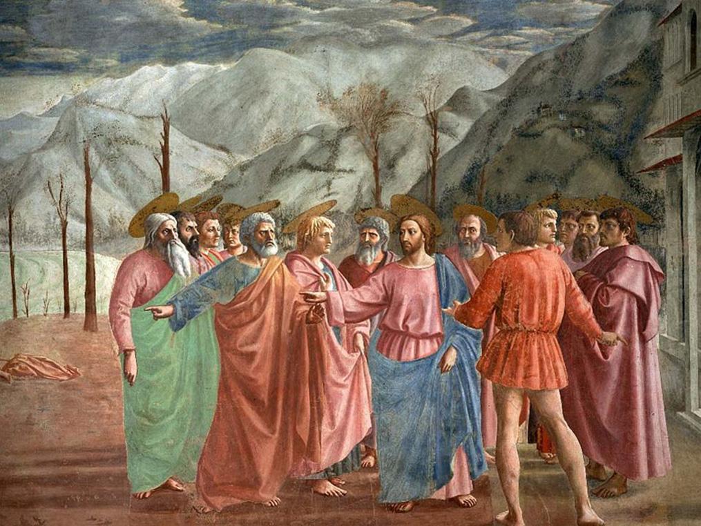 Pietro rispose a Gesù: «Tu sei il Cristo» - il Portico