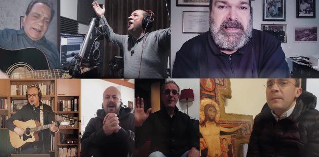 Covid. Un gruppo di sacerdoti sardi canta la speranza