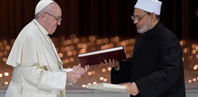 Cristiani e musulmani sono testimoni di speranza
