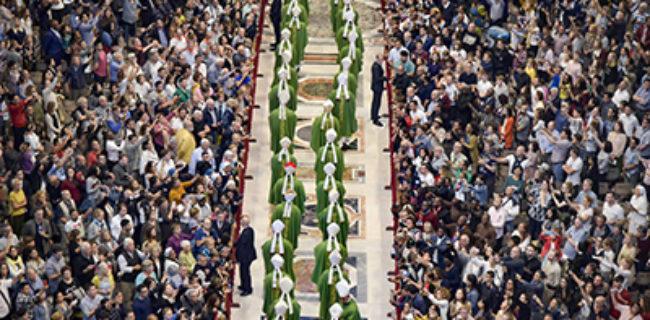 Il cammino sinodale della Chiesa, popolo di Dio